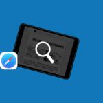 Safari – Zoeken van tekst